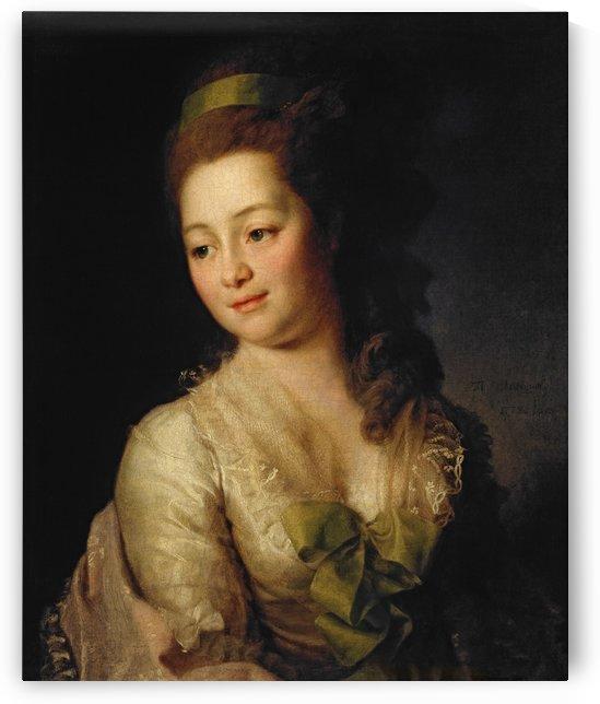 Portrait of Maria Dyakova by Dmitry Levitzky