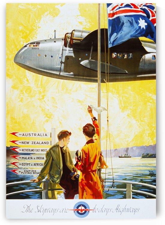 Vintage Travel - Skyways by Culturio