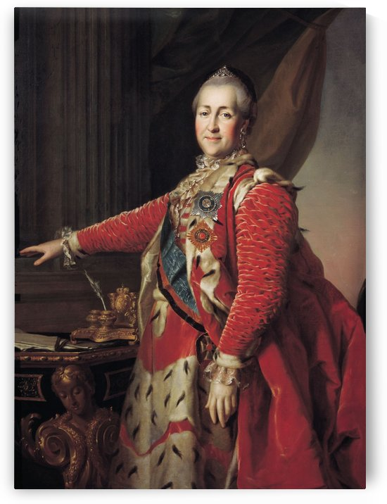 Portrait of Catherine II by Dmitry Levitzky