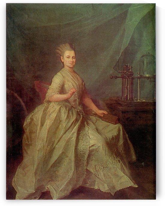 Portrait of E. I. Molchanova by Dmitry Levitzky