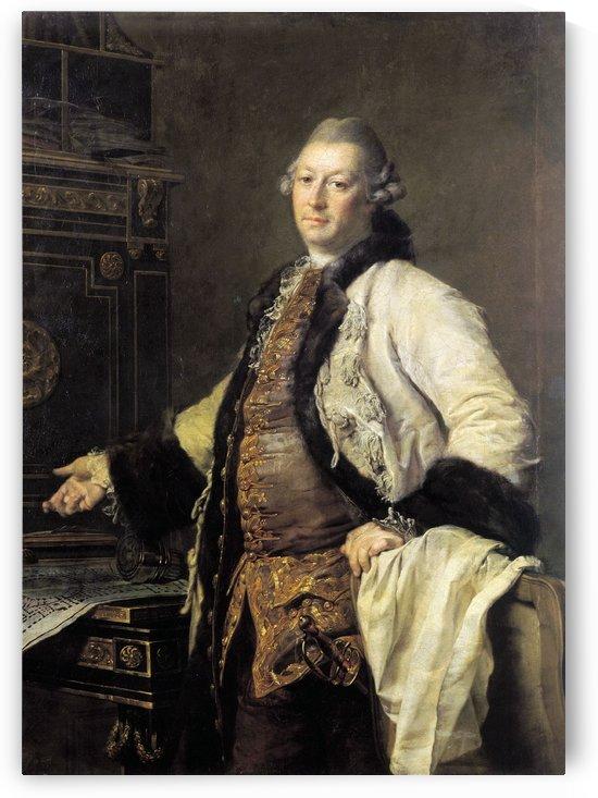 Portrait of Alexander Kokorinov by Dmitry Levitzky