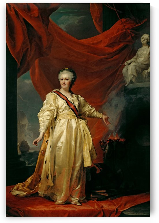 Portrait of Empress Catherine II by Dmitry Levitzky