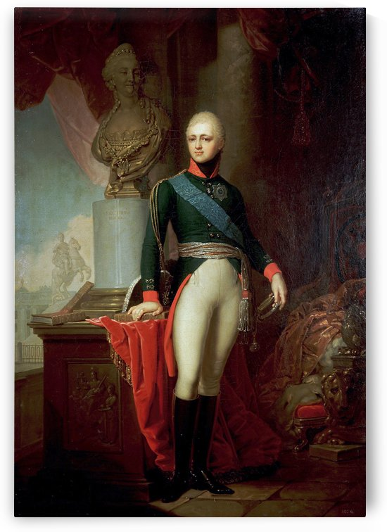 Portrait of Alexander I by Dmitry Levitzky