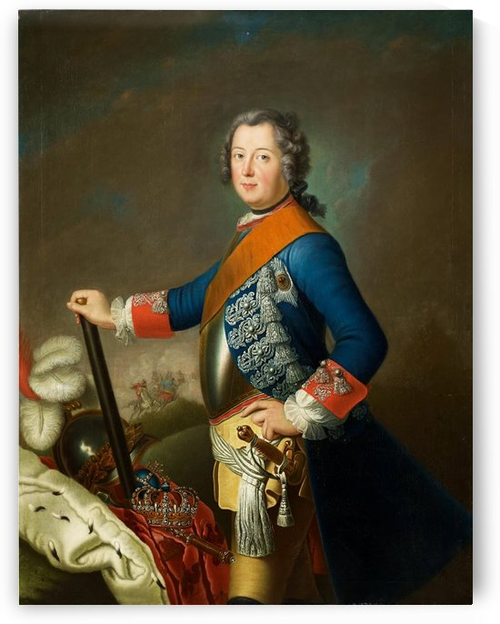Portrait of Friedrich II, King of Prussia by Dmitry Levitzky