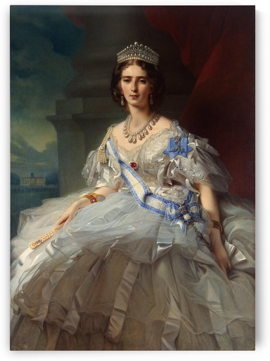 Portrait of Princess Tatiana Alexanrovna Yusupova by Dmitry Levitzky
