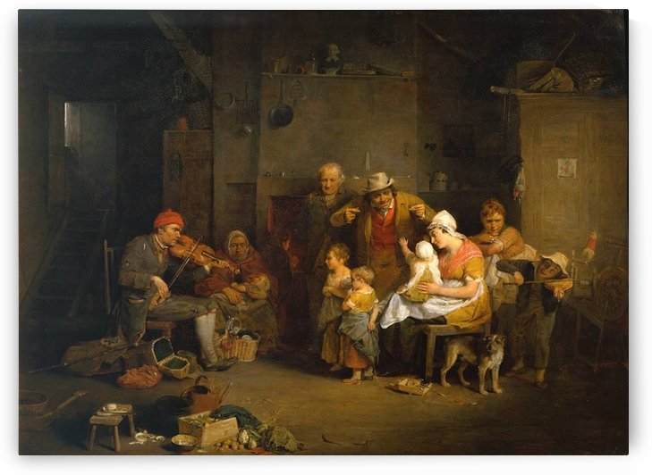 Blind Fiddler by David Wilkie