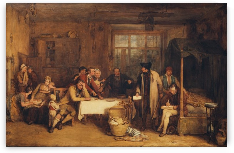 Distraining for Rent by David Wilkie