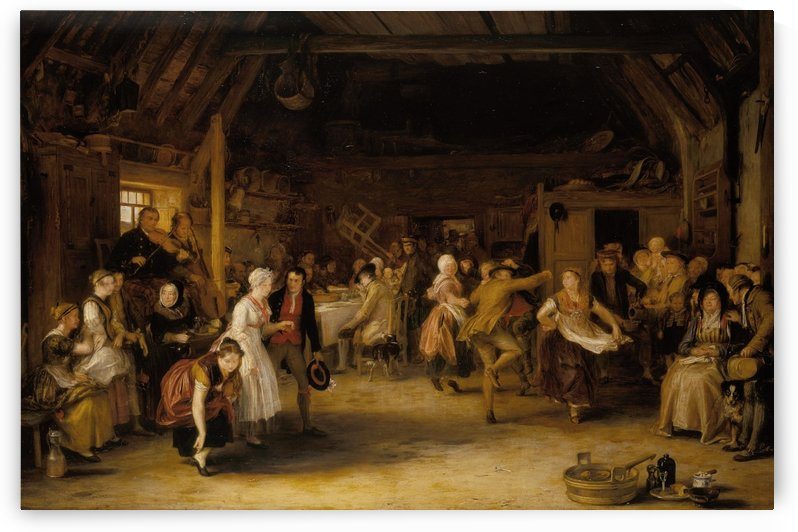 The Penny Wedding by David Wilkie