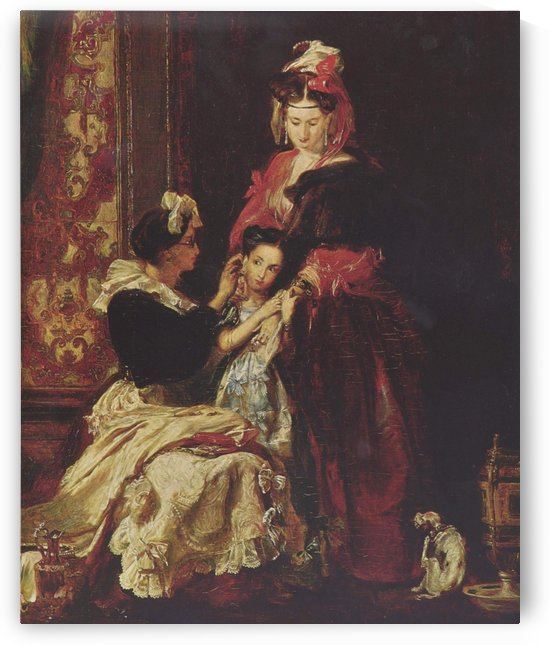 The first earring by David Wilkie