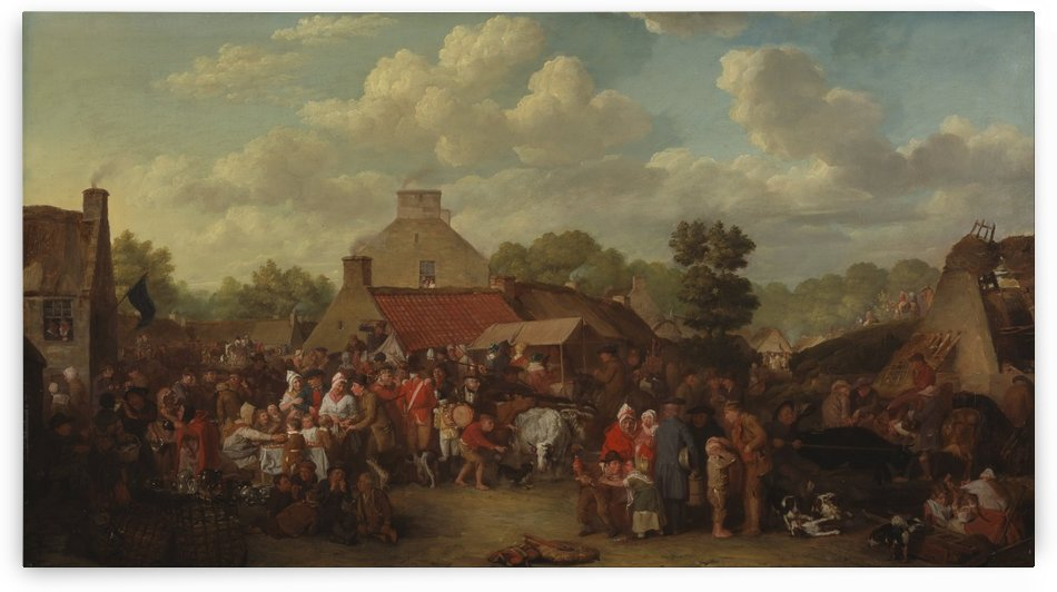 Pitlessie Fair by David Wilkie