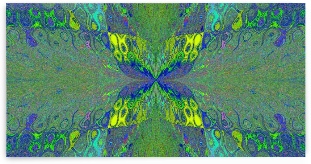 Butterfly in Crystal 14 by Sherrie Larch