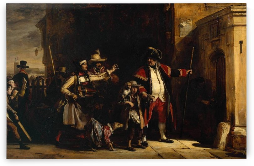 The Parish Beadle by David Wilkie