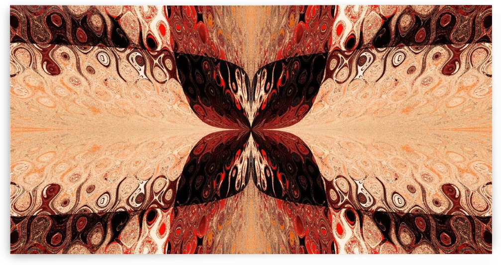 Butterfly in Crystal 42 by Sherrie Larch