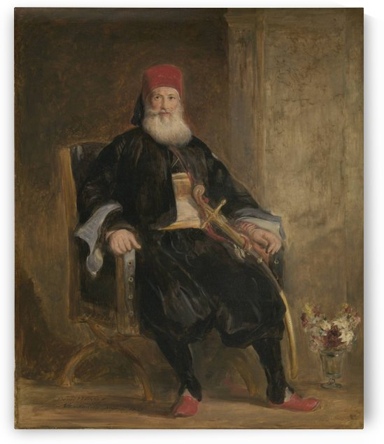 His Highness Muhemed Ali, Pacha of Egypt by David Wilkie