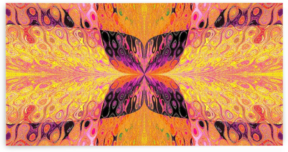 Butterfly in Crystal 48 by Sherrie Larch