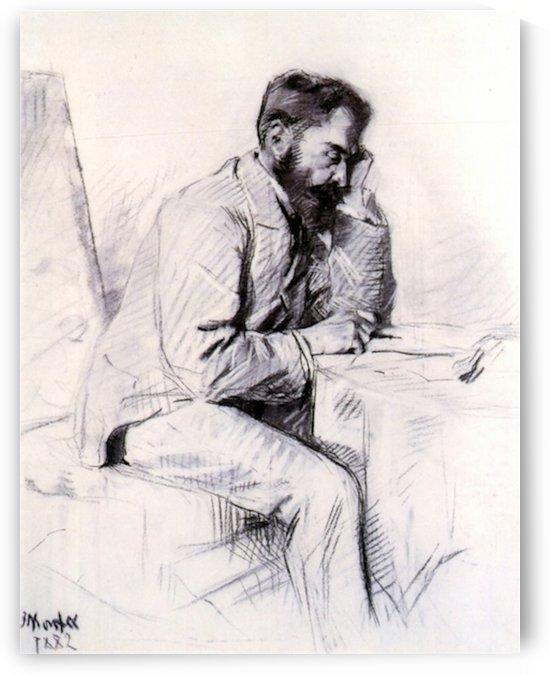 Charles de Toulouse Lautrec by Toulouse-Lautrec by Toulouse-Lautrec