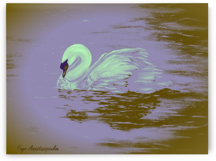 Swan Dream by Faye Anastasopoulou
