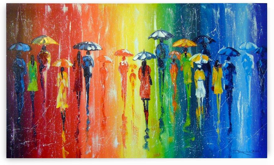 Bright rain by Olha Darchuk