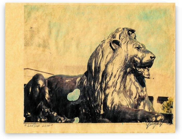 London Lion by Jon Knight Loruenser