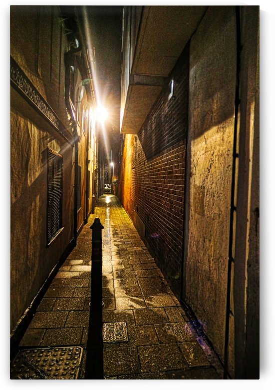 Alley light by Andy Jamieson