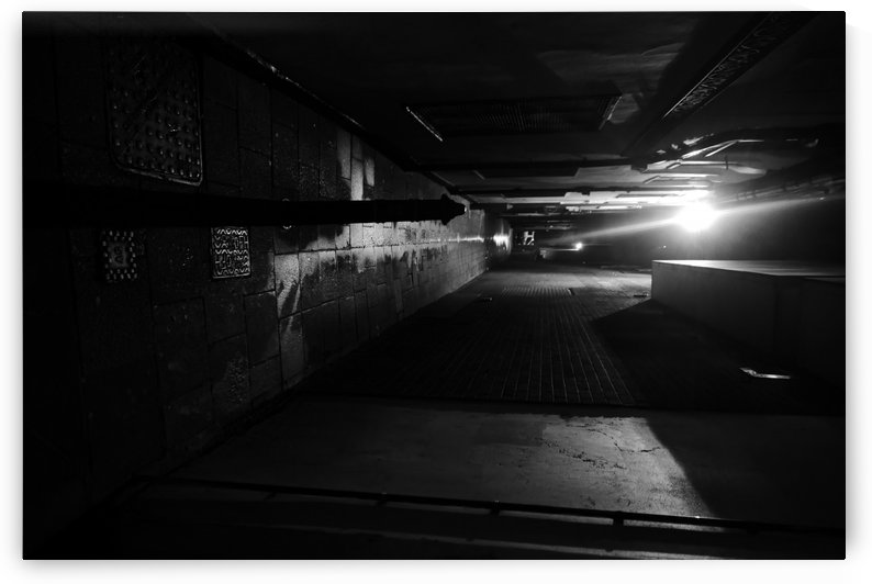 Dark alley by Andy Jamieson