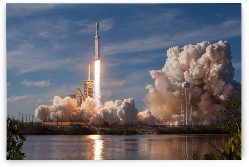 Falcon Heavy Demo Mission 020118 by Bill Swartwout Photography