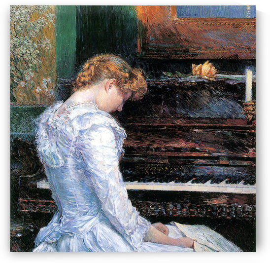 The Sonata by Hassam by Hassam