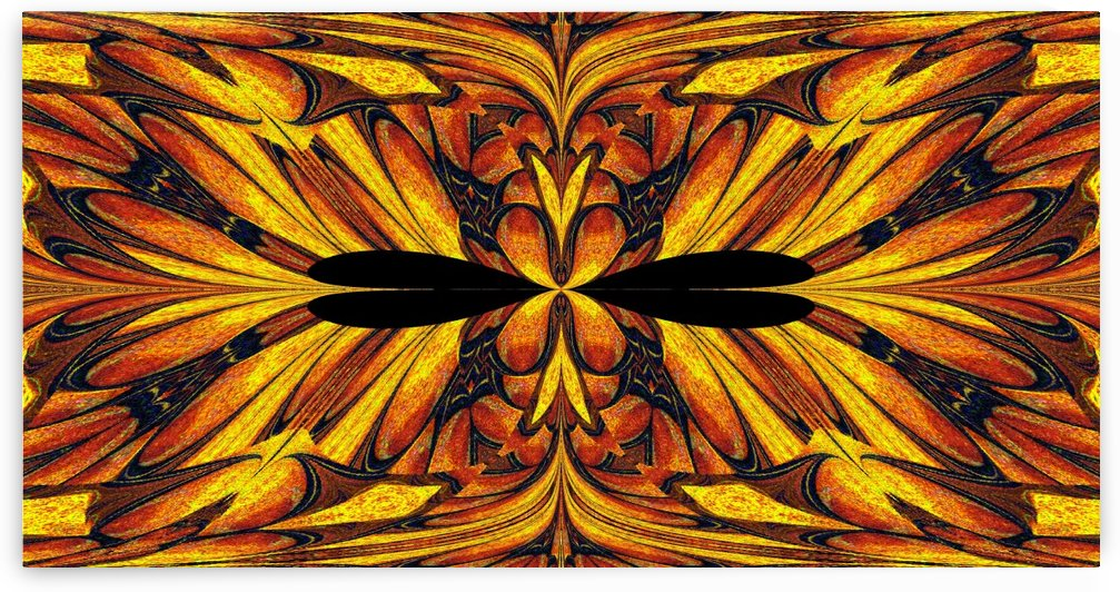 Stained Glass Butterfly In Sunshine by Sherrie Larch
