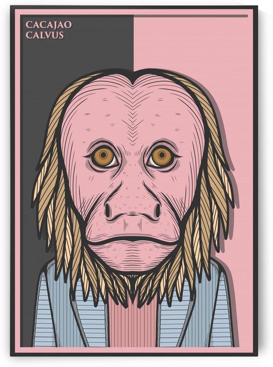 Bald Uakari Monkey by Milhad