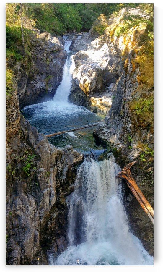 Qualicum Falls by Stuart Spofford