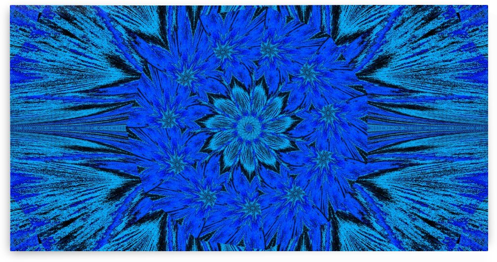 Blue Peony of Spring by Sherrie Larch