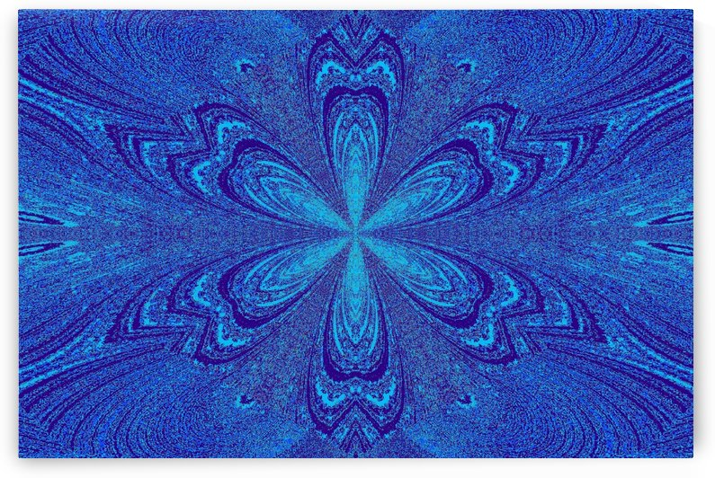 Blue Star Flower by Sherrie Larch