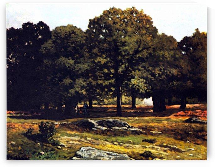 Chestnut Avenue in La Celle-Saint-Cloud by Sisley by Sisley