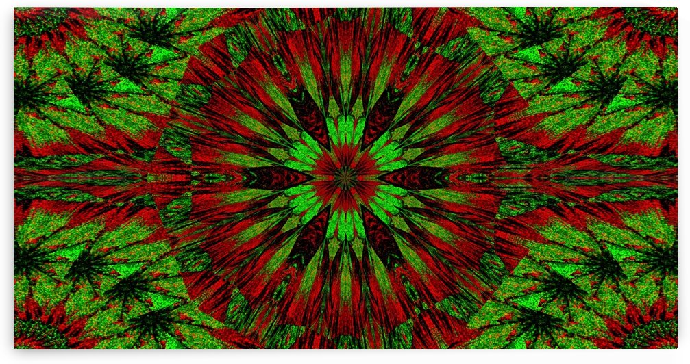 Emerald Dahlia by Sherrie Larch