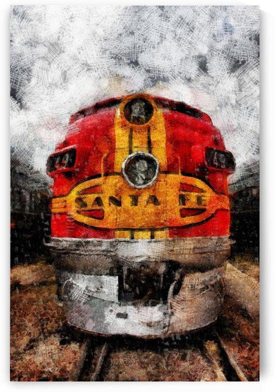 Sante Fe Card_DAP_Wax by Jeff Covington