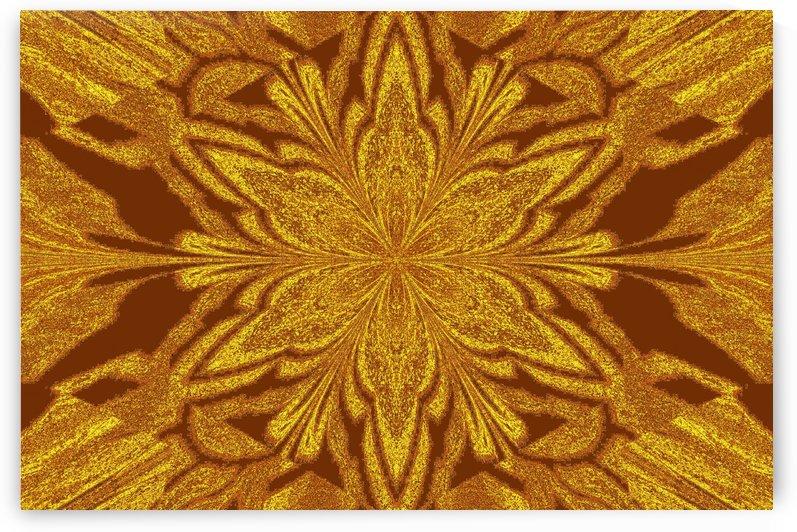Golden Yellow in Dark Red Jasmine by Sherrie Larch