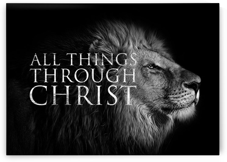 All Things Through Christ by ABConcepts