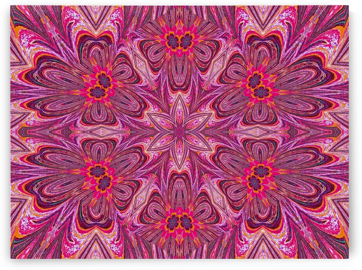Pink Forget Me Nots 2 by Sherrie Larch