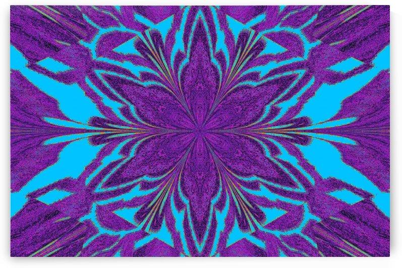 Purple in Blue Jasmine by Sherrie Larch