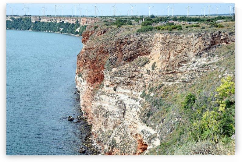Kaliakra Cliffs Nature by Kikkia Jackson