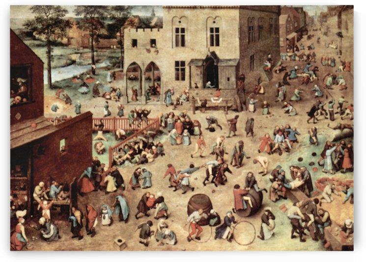 Child s play by Pieter Bruegel by Pieter Bruegel