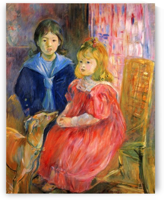 Children of Gabriel Thomas by Morisot by Morisot