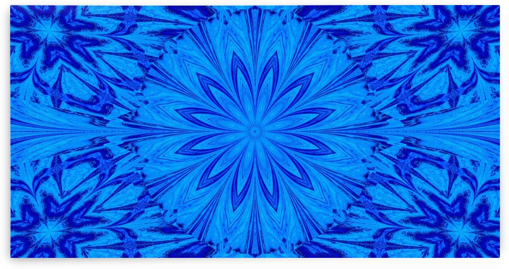A Blue Wildflower 2 by Sherrie Larch