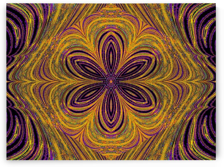 A Purple Flower by Sherrie Larch