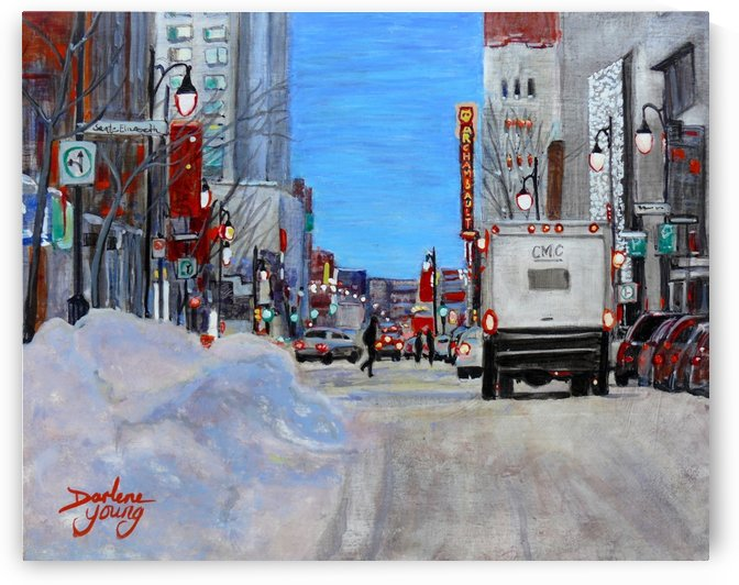 The Archambault by Darlene Young Canadian Artist