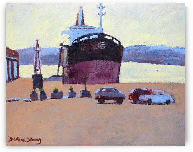 Ogden Point by Darlene Young Canadian Artist
