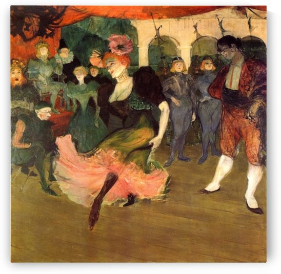 Chilperic by Toulouse-Lautrec by Toulouse-Lautrec