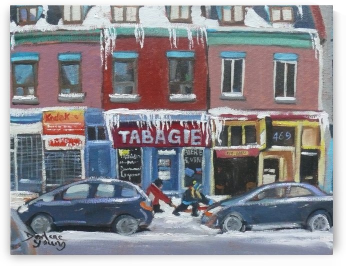 Tabagie by Darlene Young Canadian Artist