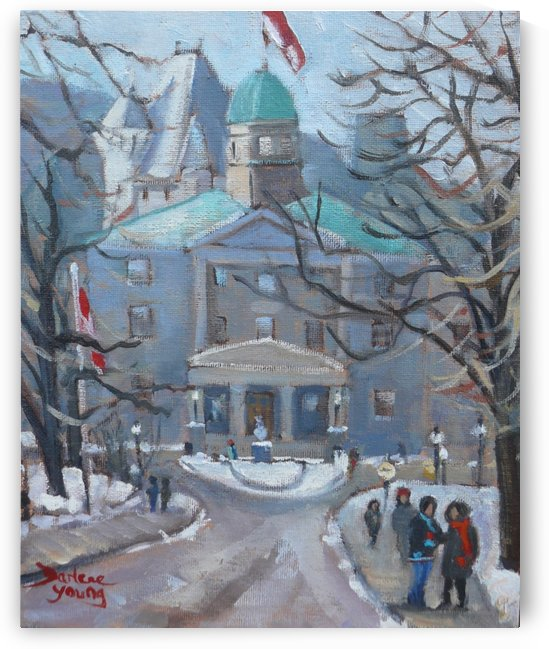 McGill by Darlene Young Canadian Artist