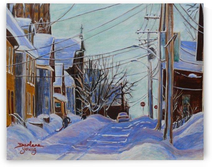Charlottetown PEI by Darlene Young Canadian Artist